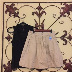 Banana Republic khaki size 4 skirt